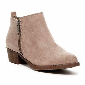 Brown-Grey Booties